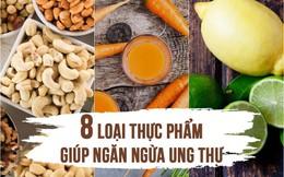 """""""Chặn đứng"""" ung thư từ 8 loại thực phẩm gia đình nào cũng có trong bếp: Số 5 là gia vị quen thuộc của người Việt!"""