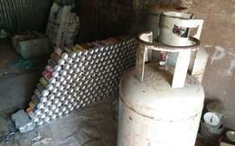 Phát hiện vụ sang chiết hơn 2.000 LPG chai mini trái phép