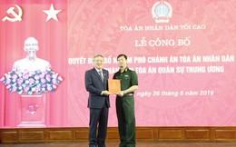 Trao Quyết định bổ nhiệm Phó Chánh án TANDTC, Chánh án Tòa án Quân sự Trung ương