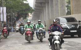 Hà Nội cấm đường Cầu Giấy đi Xuân Thủy để thi công đường sắt trên cao