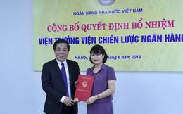 Bà Nguyễn Thị Hòa được bổ nhiệm làm Viện trưởng Viện chiến lược ngân hàng