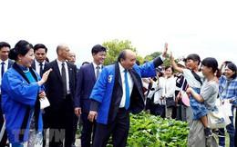 Thủ tướng Nguyễn Xuân Phúc dự lễ hội hoa sen, mượn ca dao thay lời chúc cho quan hệ Việt – Nhật