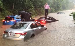 Hình ảnh lạ: Thủ đô nước Mỹ chìm trong biển nước, Nhà Trắng cũng bị ngập