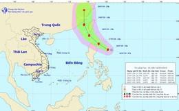 Áp thấp nhiệt đới đã mạnh thành bão Danas giật cấp 10