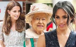 """Giữa 2 cháu dâu """"một 9 một 10"""" Kate và Meghan, Nữ hoàng Anh chỉ thân thiết với đúng 1 người: Câu trả lời không ai ngờ tới và đây là lý do"""