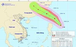 Bão Bailu gần Biển Đông sẽ tiếp tục mạnh lên