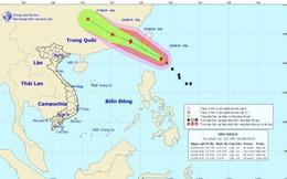Bão Bailu giật cấp 12 đang ở gần biển Đông