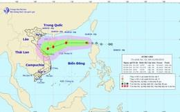 Áp thấp nhiệt đới sắp thành bão cách Hoàng Sa 740km