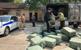 Hơn 2,3 tấn nầm lợn nhập lậu từ Trung Quốc bị chặn đứng tại Lạng Sơn