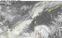 Biển Đông xuất hiện 2 áp thấp nhiệt đới, sẽ mạnh lên thành bão