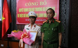 Công bố quyết định nhân sự của Bộ trưởng Công an tại Đà Nẵng
