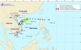 Áp thấp nhiệt đới suy yếu thành vùng áp thấp