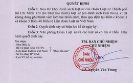320 luật sư ở TP HCM bị xóa tên vì nợ phí thành viên