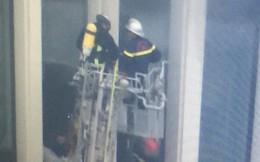 Cháy ở tòa nhà trụ sở Bộ Công an trên đường Phạm Văn Đồng