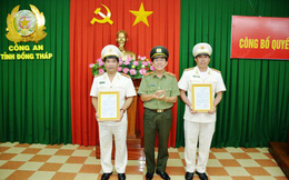 Đồng Tháp bổ nhiệm 02 Phó Giám đốc Công an tỉnh