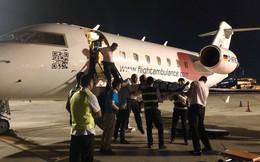 Chuyên cơ chở 3 nạn nhân bị đánh bom ở Ai Cập đáp xuống Tân Sơn Nhất