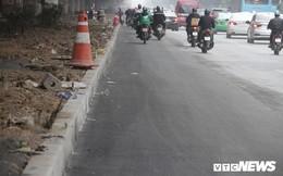 Ảnh: Sau nửa tháng cắt xén dải phân cách, những tuyến phố lớn ở Thủ đô giờ ra sao?