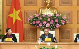 Thủ tướng chủ trì phiên họp Tiểu ban Kinh tế - Xã hội Đại hội XIII