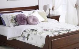 Giường ngủ đơn giản tiết kiệm diện tích