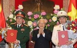Phong hàm Đại tướng cho ông Tô Lâm và Lương Cường