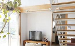 Ngôi nhà gỗ chống gió lạnh vào mùa đông