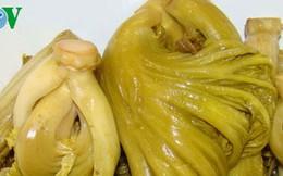 Tiêu hủy khẩn cấp hơn 2 tấn dưa cải chứa chất vàng ô