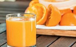 """Nghiên cứu của ĐH Harvard: Hiệu quả """"kỳ diệu"""" của việc uống một ly nước cam mỗi ngày"""