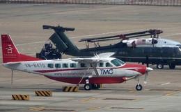 [NÓNG] Ngựa thồ C-17 Mỹ đáp xuống sân bay Nội Bài, thả siêu trực thăng Marine One của TT Trump