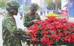 [Video] Công binh dò mìn từng chậu hoa, khóm cây quanh khách sạn JW Marriott trước ngày ông Trump đến VN