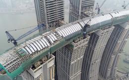 """Khu tổ hợp với """"cao ốc nằm ngang"""" của Trung Quốc sắp xây xong"""