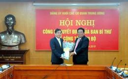Công bố Quyết định chỉ định Phó Bí thư Đảng ủy Khối cơ quan Trung ương