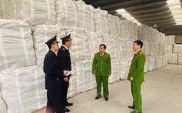 Bắt giữ hơn 18.000 tấn xi măng giả nhãn mác, bao bì xi măng Long Sơn