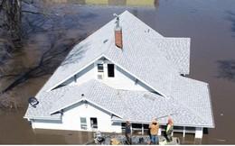Lũ lụt lịch sử ở Mỹ khiến 74 thành phố phải ban bố tình trạng khẩn cấp