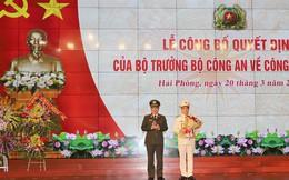 Đại tá Lê Ngọc Châu giữ chức vụ Giám đốc Công an TP Hải Phòng