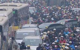 Bộ Giao thông: Đề án cấm xe máy ở Hà Nội và Tp.HCM là cần thiết