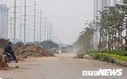 Nhếch nhác đường 40m nối hai tuyến vành đai ở Hà Nội: Lãnh đạo quận Tây Hồ nói gì?