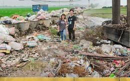 """Chuyện đau đầu của Thử thách dọn rác: """"Bục mặt"""" 4 tiếng dọn sạch chân cầu Xuân Lai, đến chiều người dân lại... vứt rác"""