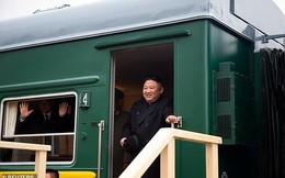 Những hình ảnh đầu tiên của ông Kim Jong-un trong chuyến đi lịch sử tới Nga