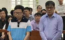 Cựu tổng giám đốc PVEP mặc áo tím nhạt hầu tòa với cáo buộc nhận lãi ngoài