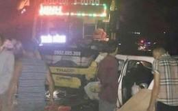 Quảng Ninh: Xe khách va chạm kinh hoàng với taxi, 3 người chết, 2 người bị thương nặng