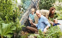 """Sau tin đồn hôn nhân rạn nứt, Công nương Kate lặng lẽ """"đáp trả"""" bằng loạt hình gia đình chưa từng công bố, Hoàng tử út Louis trở thành tâm điểm nhờ điều này"""
