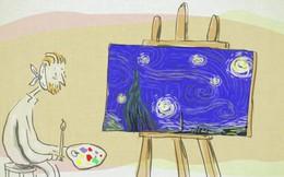 Bức họa nổi tiếng 'Starry Night' của Vincent van Gogh có một bí ẩn cực khó mà nhân loại vẫn chưa thể hiểu cặn kẽ