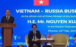 Thủ tướng: Doanh nghiệp Nga hãy yên tâm, con cháu các bạn cũng yên tâm làm ăn tại Việt Nam