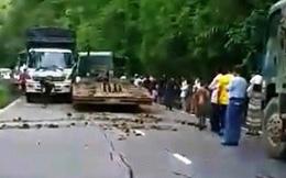 Xe đầu kéo mất thắng tông liên hoàn trên đèo Bảo Lộc
