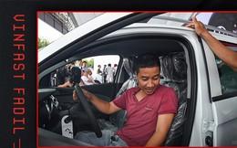 Khách Việt hết lời khen VinFast Fadil trong ngày nhận xe quy mô kỷ lục Việt Nam