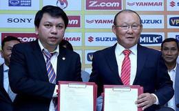 VFF tăng lương cho HLV Park Hang-seo lên 1 tỷ đồng/tháng, cao gấp 40 lần thầy Việt ở V.League