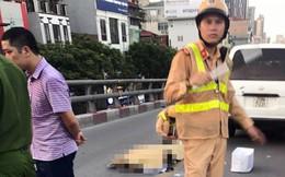 Hà Nội: Ô tô 7 chỗ tông nam thanh niên đi xe máy tử vong trên cầu vượt Láng Hạ - Lê Văn Lương