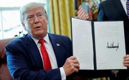 Ông Trump ký sắc lệnh trừng phạt lãnh đạo cao nhất của Iran