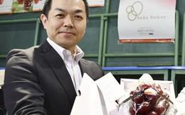 Một chùm nho đỏ của Nhật Bản có giá bán kỷ lục 11.000 USD