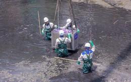 Nước Hồ Tây cuốn trôi kết quả thử nghiệm ở sông Tô Lịch: 'Không thể nói một việc'